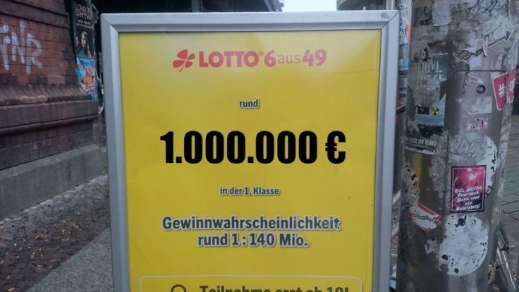 lotto höchste gewinnchance