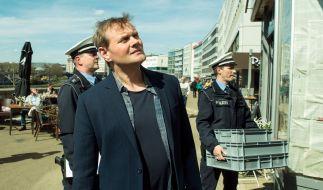"""Kriminalhauptkommissar Jens Stellbrink (Devid Striesow) fällt in """"Mord Ex Machina"""" ein besonders kniffliger Fall vor die Füße. (Foto)"""