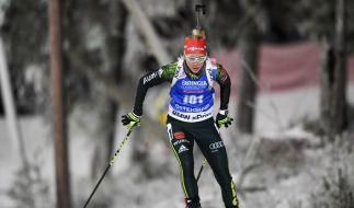 Die deutschen Biathleten müssen am Wochenende beim Sprint und in der Verfolgung punkten. (Foto)