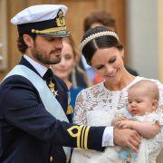 DAS sind die Tauf-Paten vom süßen Baby-Prinzen (Foto)