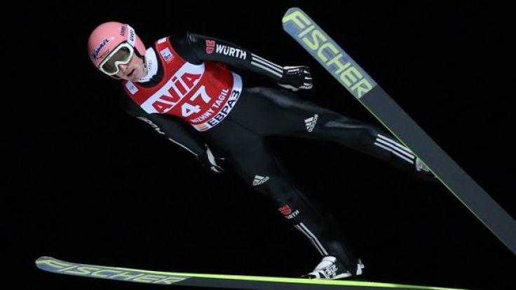 Die deutschen Skispringer starten an diesem Wochenende im russischen Nischni Tagil.