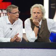 Das Gipfeltreffen der TV-Giganten in der Wiederholung sehen (Foto)