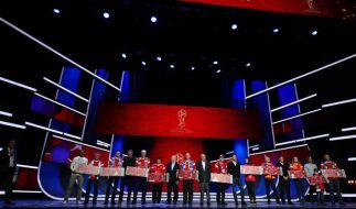 Die WM-Auslosung findet im Kreml-Palast in Moskau statt. (Foto)