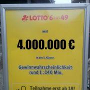 Lotto am Samstag mit allen Gewinnzahlen und Quoten (Foto)