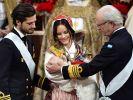 Prinz Gabriel von Schweden, der Sohn von Prinz Carl Philip und Prinzessin Sofia, wurde am 1. Dezember 2017 getauft. (Foto)