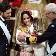 Kleiner Prinz getauft! Tauf-Zeremonie als Wiederholung sehen (Foto)
