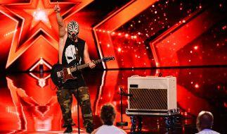 Rutt Mysterio hält den Weltrekord im Rülpsen und plant eine besonders appetitliche Show-Einlage. (Foto)