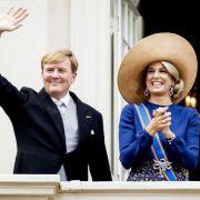 Niederländisches Königspaar ist abgetaucht (Foto)