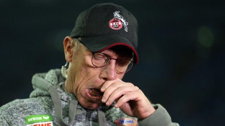 Der 1. FC Köln hat seinen Trainer Peter Stöger entlassen. (Foto)