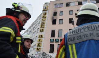 Ein Feuer in einem Wohnhaus in Saarbrücken hat vier Menschen das Leben gekostet. (Foto)