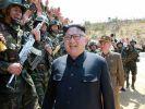 Nordkorea hat den USA erneut einen Nuklearschlag angedroht. (Foto)