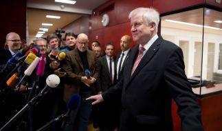 Seehofer will CSU-Chef bleiben. (Foto)