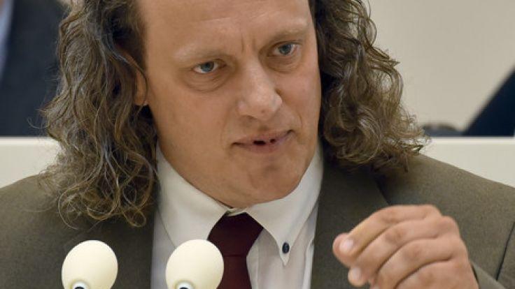 Steffen Königer sorgte mit seiner Rede für einen Eklat - und wurde zum Beisitzer gewählt.