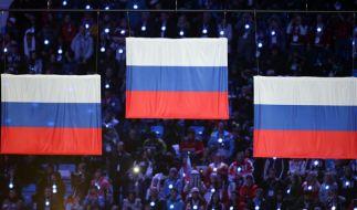 Russische Sportler müssen 2018 unter neutraler Flagge bei den Winterspielen teilnehmen. (Foto)