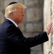 Trump erkennt Jerusalem als Hauptstadt Israels an (Foto)