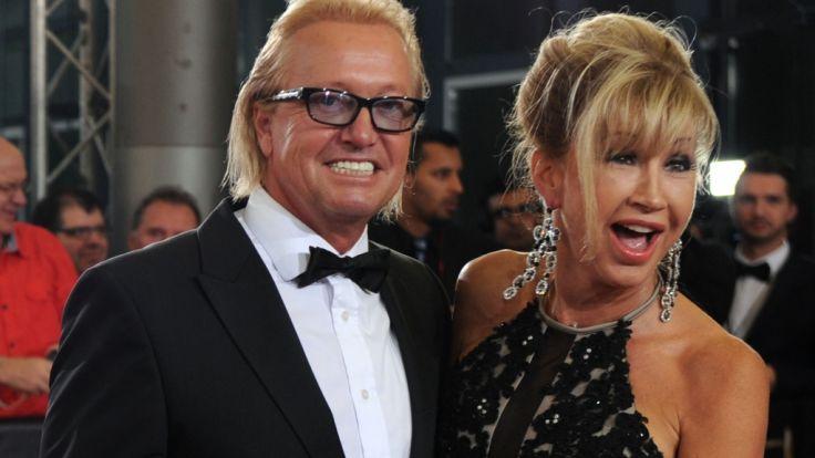 Robert und Carmen Geiss sind immer für einen Spaß zu haben - auch auf Kosten anderer. (Foto)