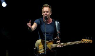 Sting kommt auch 2018 auf Konzert-Tour nach Deutschland. (Foto)