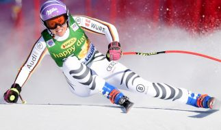 Viktoria Rebensburg in Aktion. (Foto)