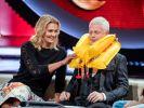 """Wenn Franziska van Almsick bei """"Verstehen Sie Spaß?"""" auf dem Gästesofa Platz nimmt, bleibt Moderator Guido Cantz die Luft weg. (Foto)"""