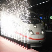 Pannen-Premiere auf neuer Fernbahnstrecke (Foto)