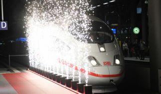 Auch die Eröffnung der neuen Fernbahnstrecke ging nicht problemlos von statten. (Foto)