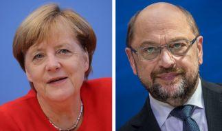 Angela Merkel und Martin Schulz verhandeln ab Mittwoch über eine Große Koalition. (Foto)