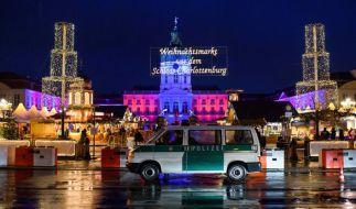 In Berlin Charlottenburg kam es zu einem Großeinsatz der Polizei. (Foto)