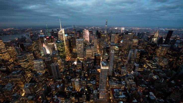 Skyline von Manhattan. (Foto)