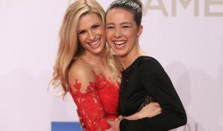 Michelle Hunziker und ihre Tochter Aurora. (Foto)