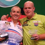 Lewis und Cross sind erste Halbfinalisten bei Darts-Weltmeisterschaft (Foto)