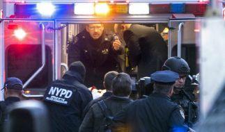 Der mutmaßliche Manhattan-Attentäter verletzte sich beim Zünden des Sprengsatzes. (Foto)