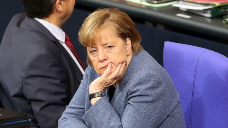 Angela Merkel steht vor einer schweren Aufgabe. (Foto)
