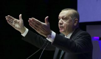 Der türkische Präsident Erdogan fordert die Anerkennung Jerusalems als Hauptstadt Palästinas. (Foto)