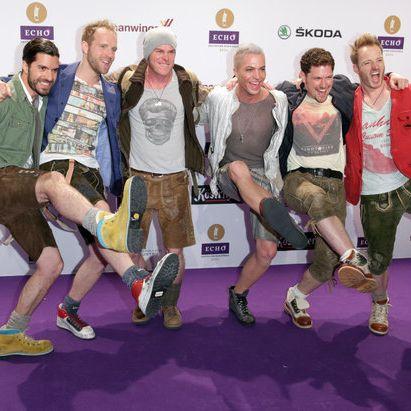 Nackt! HIER ziehen Michael Hartinger und seine Jungs blank (Foto)