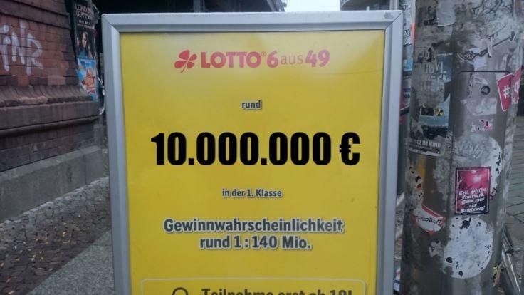 Lotto Gewinnchance