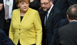 Nach dem ersten Spitzengespräch mit der Union will die SPD am Freitag über konkrete Sondierungen entscheiden. (Foto)