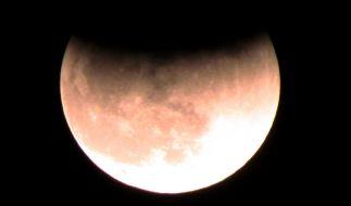 Am 27.07.2018 ist über Deutschland eine totale Mondfinsternis beobachtbar. (Foto)