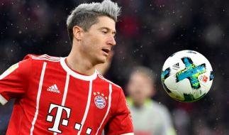 Robert Lewandowski vom FC Bayern München. (Foto)