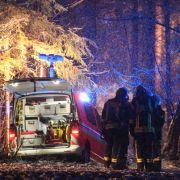 Drei Tote bei Flugzeugabsturz - Ursache womöglich Winterwetter? (Foto)
