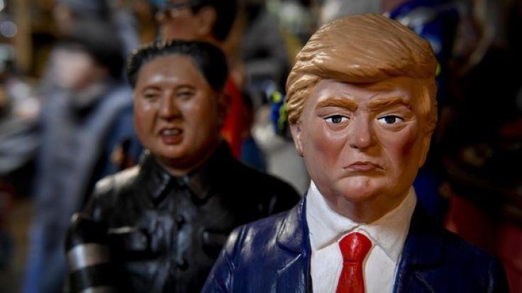 Die Spannungen zwischen Kim Jong- und und Trump schwächen nicht ab. (Foto)