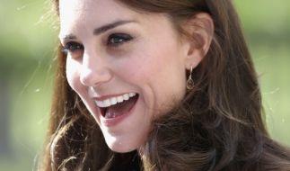 Kate Middleton weiß auch als schwangeres Mitglied der britischen Königsfamilie, wie man eine zünftige Party feiert. (Foto)