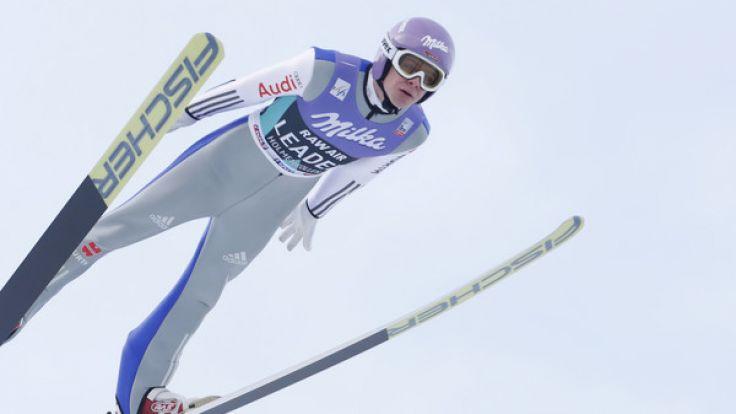 Bei Ski-Alpin-Weltcup in Oslo ging 2017 auch Andreas Wellinger für das deutsche Team an den Start. (Foto)