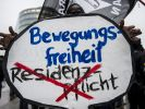 Die Flüchtlinge selbst sind über die Residenzpflicht erzürnt. (Foto)
