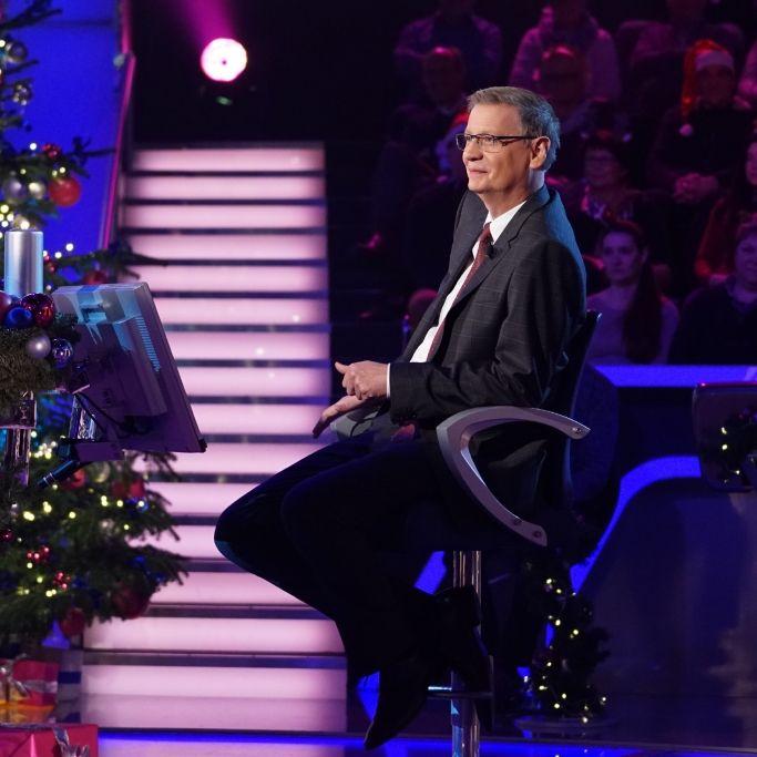 Günther Jauch hatte für seine Kandidaten zahlreiche Geschenke (Foto)