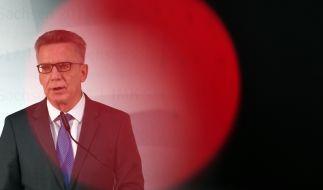 Thomas de Maiziere sprach über die Terror-Gefahr in Deutschland. (Foto)