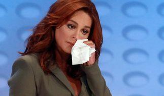 Andrea Berg muss sich von ihrer Tochter verabschieden. (Foto)