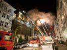In Hamburg kam es in der Nacht zum Montag zu einem Großbrand im sogenannten Musikbunker. (Foto)