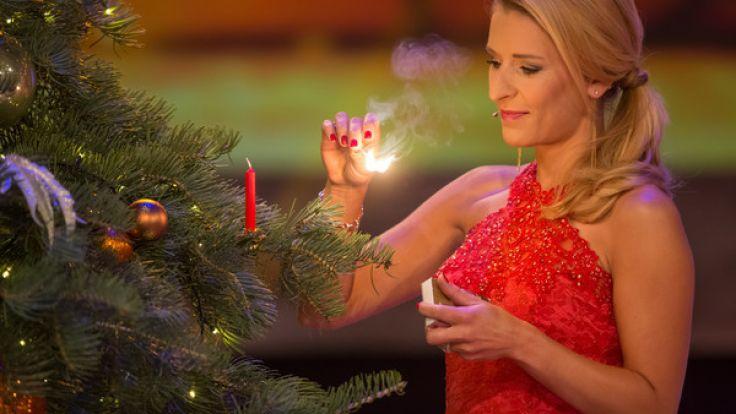 Kurz vor Weihnachten musste Stefanie Hertel einen schweren Schicksalsschlag verkraften. (Foto)