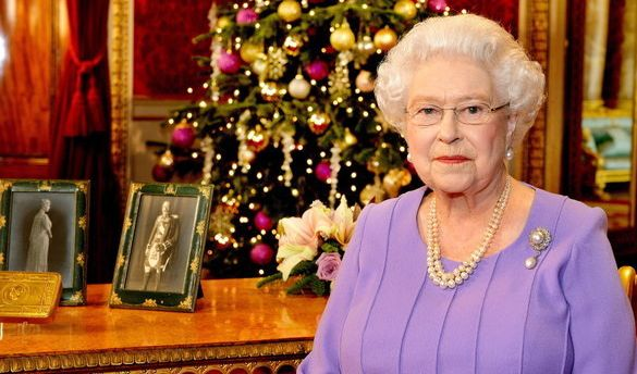 Queen Elizabeth feiert Weihnachten 2017
