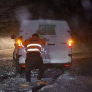 Glatteis-Alarm! Deutsche Straßen werden zur Eisbahn (Foto)